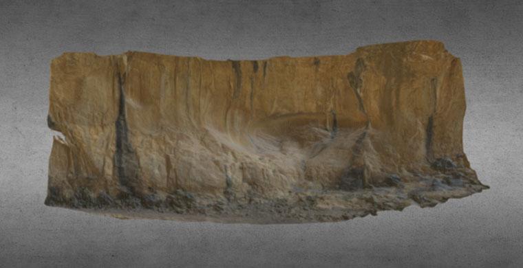 Model 3D de Cova Centelles complet.