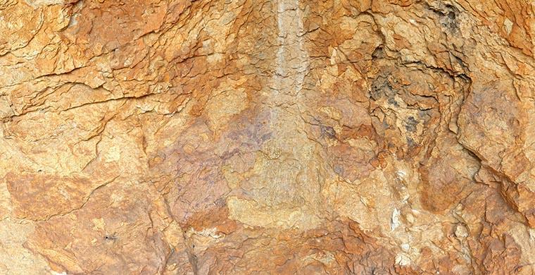 Imagen gigapíxel del sector derecho de Cova dels Cavalls, color real