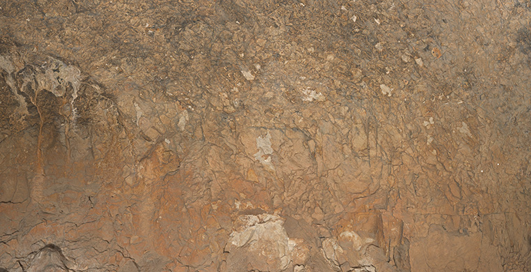 Gigapixel image of the right hand area of Cova Alta del Lledoner, real color.